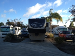 Site 58 at Majestic Oaks RV Resort