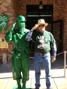 Green Army Man and Malcolm