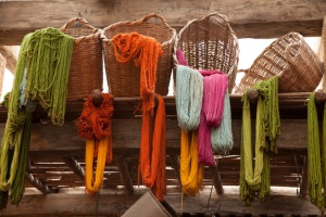 Yarns in Morocco.