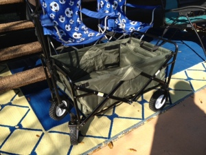 New folding wagon.