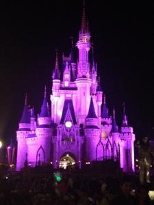 Purple castle.
