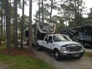 Pine Glen campground spot 22.