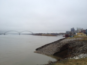Memphis and I-40 bridge.