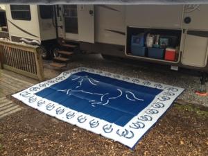 Horse mat.