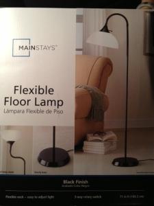 Lamp box.