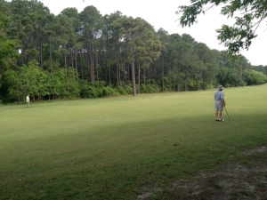 Even more golfing.