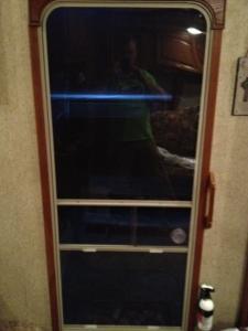 FInished door.