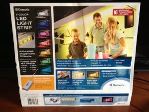 Dometic LED Light Bar kit.