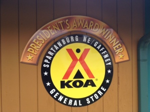 KOA store award.