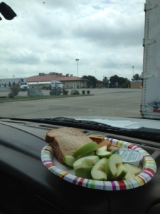 Truck stop lunch