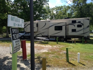 Our site at Holiday Trav-L-Park.