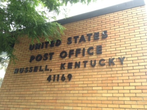Russell, KY post office.