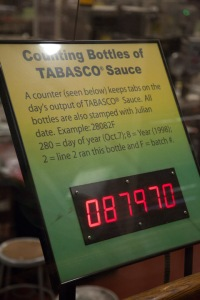 Real-time counter of how many bottles were made today.