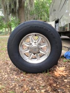 New tire.