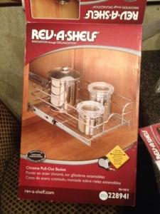 Rev-A-Shelf model.