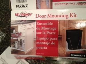 Door mounting kit.