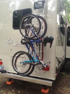 Bike rack test.