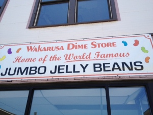 Home of the jumbo jelly beans.