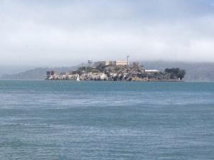 Alcatraz from afar.