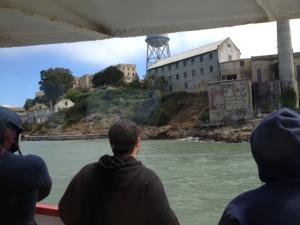 Passing by Alcatraz