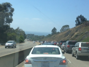 Everyone going to La Jolla.
