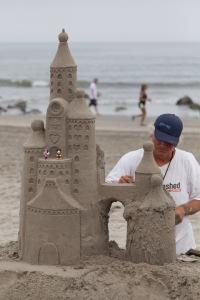 Sand castle guy