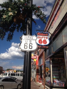Downtown on Route 66