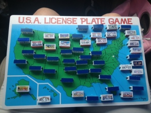License plate results