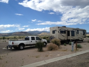 Our spot at the RV Park