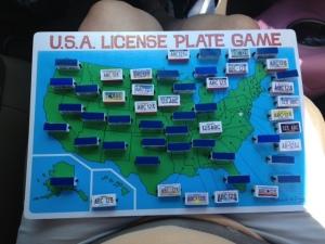 License plate sightings