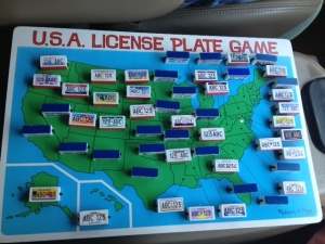 Today's license plate finds