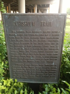 Chisholm Trail Sign