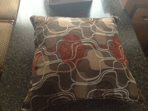 Original throw pillow (came with the recliners)
