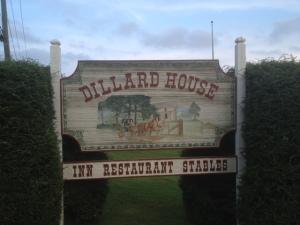 Dillard House sign