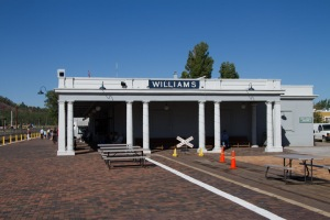 Williams train station