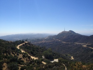 One last view back towards the Hollywood sign