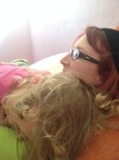 Violet and Mommy (Elizabeth)