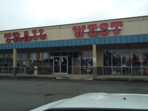 Trail West store