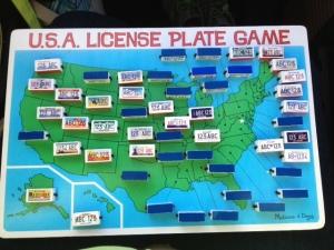 License plates found