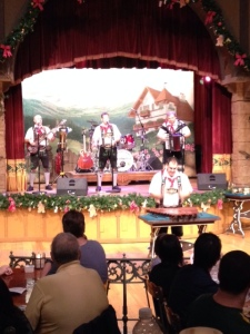 Entertainment at the Biergarten