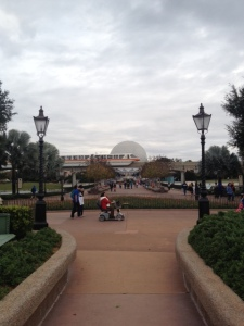 Obligatory central Epcot shot.