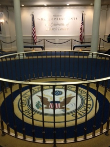 Seal in the Hall of Presidents