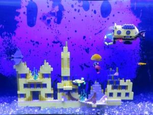 Cool Lego underwater scene