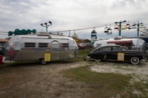 Some vintage Airstreams