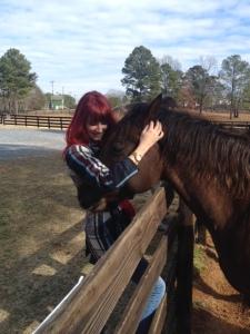 Snuggle horse