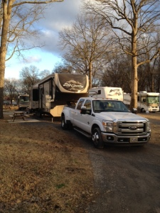 Our site at the KOA