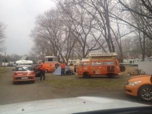 More Orange Campers