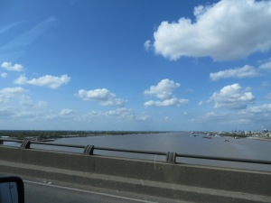 The mighty Mississippi (Tue. 4/1)