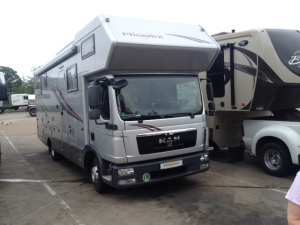 German motorhome