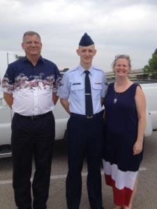 Dad, David and Mom